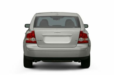 Rear Profile  2006 Volvo S40