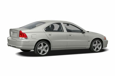 3/4 Rear Glamour  2006 Volvo S60
