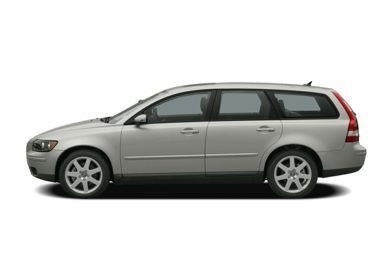 90 Degree Profile 2006 Volvo V50