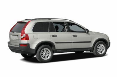 3/4 Rear Glamour  2006 Volvo XC90
