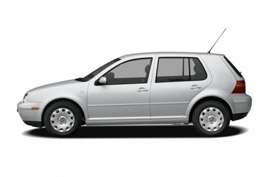 90 Degree Profile 2006 Volkswagen Golf
