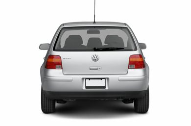 Rear Profile  2006 Volkswagen Golf