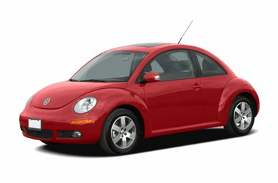 3/4 Front Glamour 2006 Volkswagen New Beetle