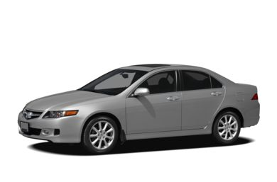 3/4 Front Glamour 2007 Acura TSX