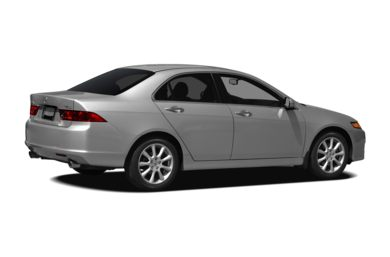 3/4 Rear Glamour  2007 Acura TSX