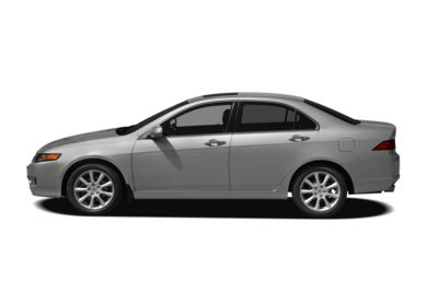 90 Degree Profile 2007 Acura TSX