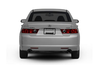Rear Profile  2007 Acura TSX