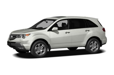 3/4 Front Glamour 2007 Acura MDX