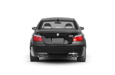 Rear Profile  2007 BMW M5