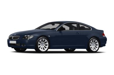 3/4 Front Glamour 2007 BMW 650