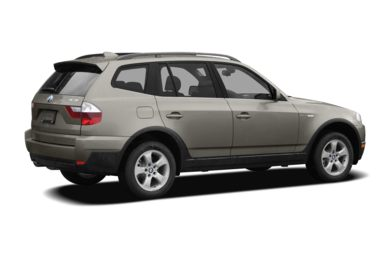 3/4 Rear Glamour  2007 BMW X3