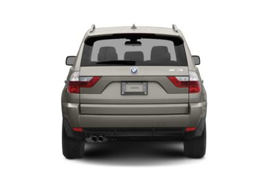 Rear Profile  2007 BMW X3