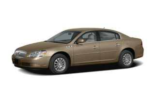 3/4 Front Glamour 2007 Buick Lucerne