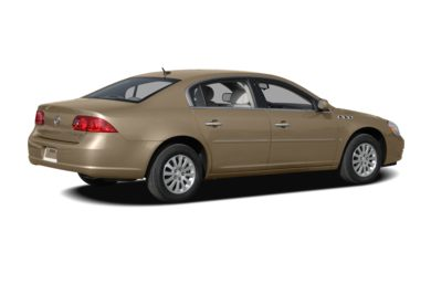 3/4 Rear Glamour  2007 Buick Lucerne