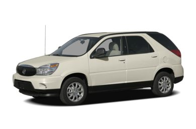 3/4 Front Glamour 2007 Buick Rendezvous