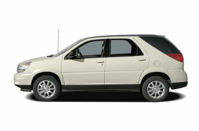 90 Degree Profile 2007 Buick Rendezvous