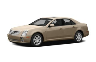 3/4 Front Glamour 2007 Cadillac STS