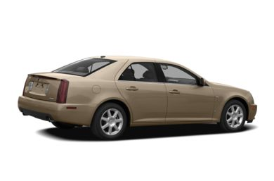 3/4 Rear Glamour  2007 Cadillac STS
