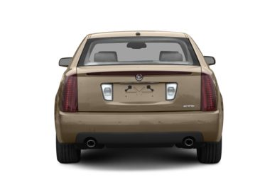 Rear Profile  2007 Cadillac STS