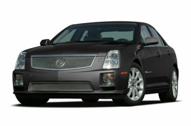 3/4 Front Glamour 2007 Cadillac STS-V