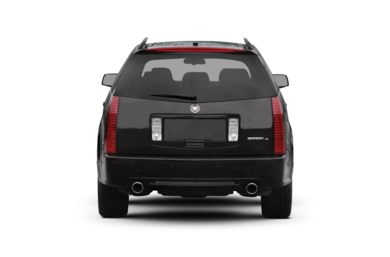 Rear Profile  2007 Cadillac SRX