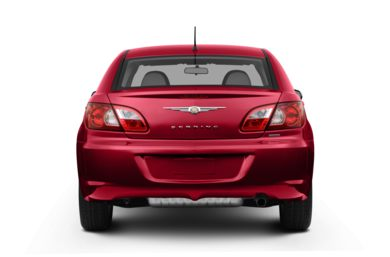 Rear Profile  2007 Chrysler Sebring