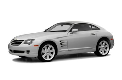 3/4 Front Glamour 2007 Chrysler Crossfire