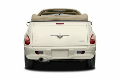 Rear Profile  2007 Chrysler PT Cruiser