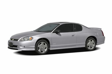 3/4 Front Glamour 2007 Chevrolet Monte Carlo