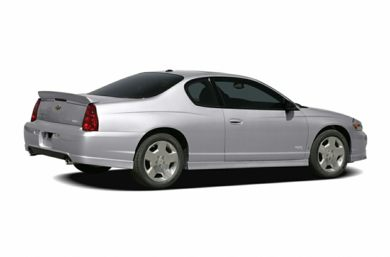 3/4 Rear Glamour  2007 Chevrolet Monte Carlo