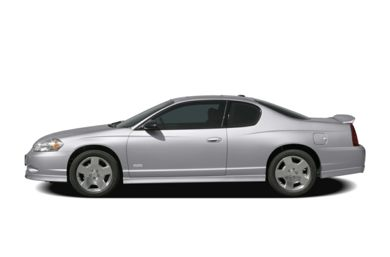 90 Degree Profile 2007 Chevrolet Monte Carlo