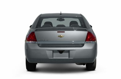 Rear Profile  2007 Chevrolet Impala