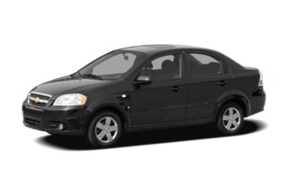 3/4 Front Glamour 2007 Chevrolet Aveo