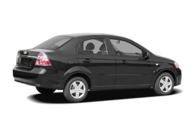 3/4 Rear Glamour  2007 Chevrolet Aveo