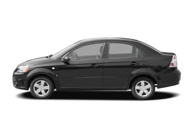 90 Degree Profile 2007 Chevrolet Aveo