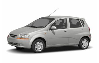 3/4 Front Glamour 2007 Chevrolet Aveo 5
