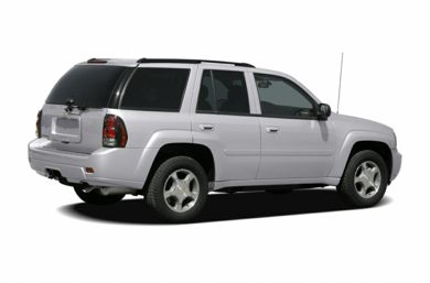 3/4 Rear Glamour  2007 Chevrolet TrailBlazer