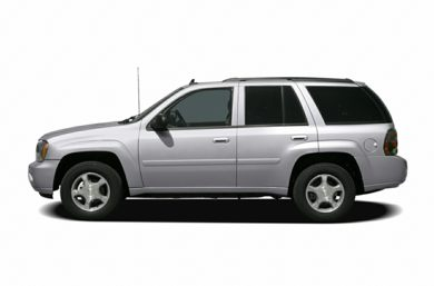 90 Degree Profile 2007 Chevrolet TrailBlazer