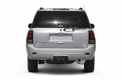 Rear Profile  2007 Chevrolet TrailBlazer