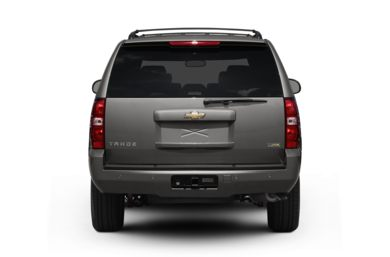 Rear Profile  2007 Chevrolet Tahoe