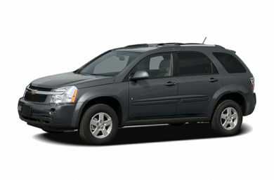 3/4 Front Glamour 2007 Chevrolet Equinox
