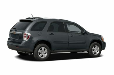 3/4 Rear Glamour  2007 Chevrolet Equinox