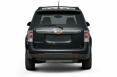 Rear Profile  2007 Chevrolet Equinox
