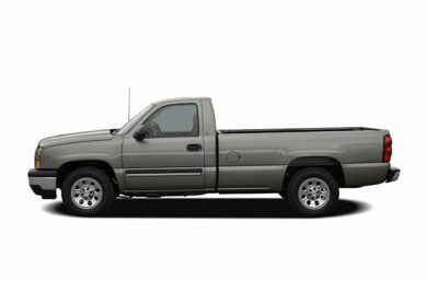 90 Degree Profile 2007 Chevrolet Silverado 1500 Classic