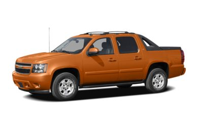 3/4 Front Glamour 2007 Chevrolet Avalanche 1500