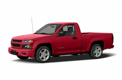 3/4 Front Glamour 2007 Chevrolet Colorado