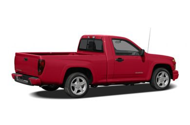 3/4 Rear Glamour  2007 Chevrolet Colorado