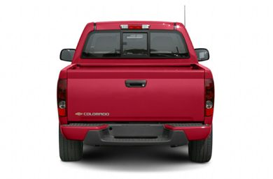 Rear Profile  2007 Chevrolet Colorado