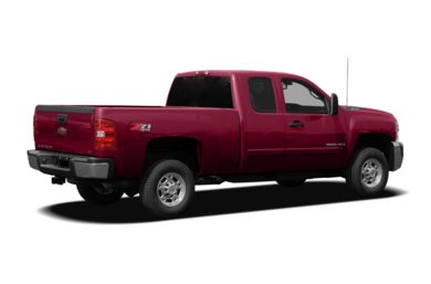 3/4 Rear Glamour  2007 Chevrolet Silverado 2500HD