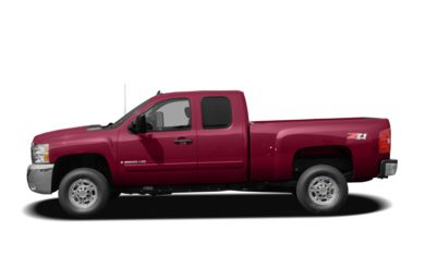 90 Degree Profile 2007 Chevrolet Silverado 2500HD